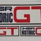 HSR Historic GT Stickers Vintage Sports car Racing