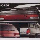 1988 Peugeot Brochure