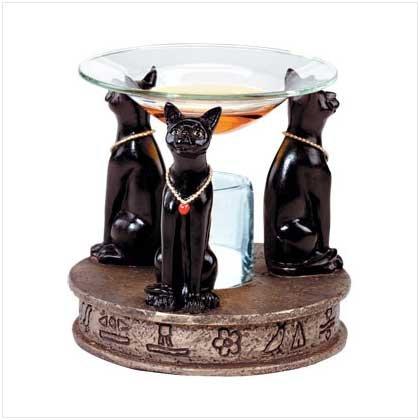 Egyption Cats Oil Burner