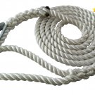 "3 Strand Mooring Pendant Nylon Rope 3/4"" X 12"" with Thimble"