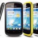 New 3G mobile phone GSM+WCDMA cell phone Dual sim phone Unlocked brand phone 3.5inch