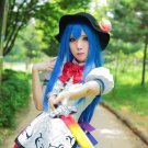 Lucky Star Izumi Konata Hinanawi Tenshi Cosplay Wig Blue costume  hair