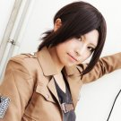 Hot sell!! New Attack on Titan Ymir Styled Warm Brown Cosplay Party Wig