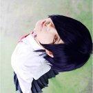Tokyo Ghoul Tokyo Guru Toka Kirishima Touka Short Dark Purple Anime Cosplay Wig
