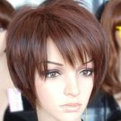women wigs New Short Dark Brown Fashion Cosplay Wigs