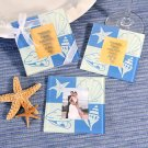 Beach-Themed Photo Coaster Favors (Set of 2)