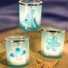 Sea Treasure Design Candle Holders Wedding Favors