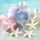 Starfish Soap in Starfish Print Gift Box with Starfish Tag Wedding Favors