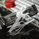 'Whisked Away' Heart Whisk Wedding Favors