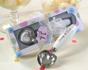 Scoop of Love Heart-Shaped Ice Cream Scoop Wedding Favors