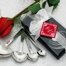 """Love Beyond Measure"" Heart Measuring Spoons in Gift Box Wedding Favors"