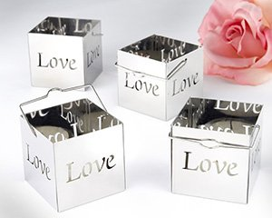 Luminous Love Votives - Set of 4 Wedding Favors