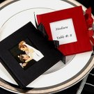 """Capture the Moments"" Mini Satin Photo Album Wedding Favors"