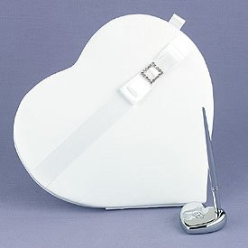 Heart-Shaped Guest Book