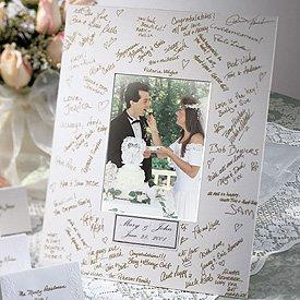 Wedding Wishes Signature Mat