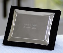 Silver Cover Guest Book - Personalized