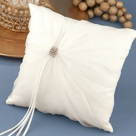 """To Thee I Wed"" Ivory Pillow"