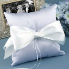 Satin Pillow - Choose from Ivory, Pink, Light Blue, or Lavander