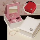 Personalized Folding Jewelry Box - Bridesmaid Gift