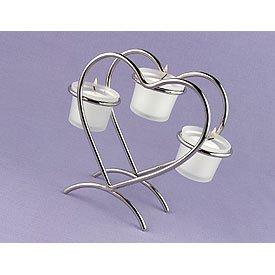 Heart Candle Holder Wedding Centerpiece