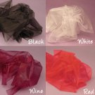 Organza Fabric 10 Yards - Available in different Colors