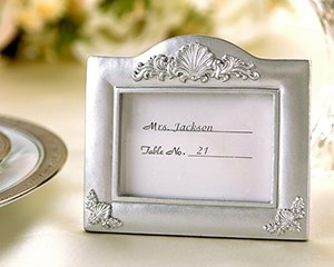 'Traditions' Place Card Holder and Photo Frame Wedding Favor