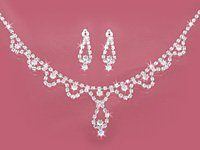 AB Austrian Crystal Necklace Set
