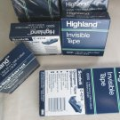 4x36 yrds 3M Highland Scotch Invisable Tape