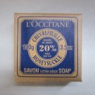 L'Occitane Honeysuckle Shea Soap 3.5 oz Rare