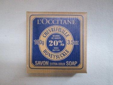 L'Occitane Honeysuckle Shea Soap 3.5 oz Rare