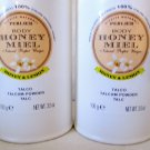 Lot of 2 Perlier HONEY & LEMON  Perfumed Body Powder 3.5 oz