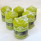 Colonial Candle 6 Votives SAVANNAH MOSS 1.7 oz