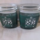 2 Colonial Candle 8 oz ~SPICE WREATH~ Scented Oval Jar w/ lid