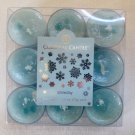 Colonial Candle ~~SNOWDAY~~Scented Tea Lights 9/ pack New