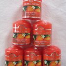 Colonial Candle 6 Votives ORANGE BLOSSOM 1.7 oz