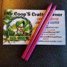 "2 Pack - 3 1/2"" 550lb Stitching Needles ~ Pink"