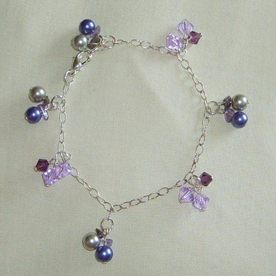 Pearls & Crystals bracelet