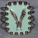 Silver Eagle cuff bracelet like ELVIS PRESLEY wore in 1972 in movie Elvis on TouR