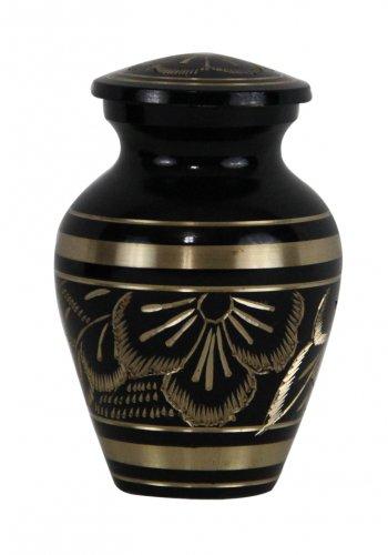 Mini Size Radiance Keepsake Memorial Urn For Ashes With Velvet Box