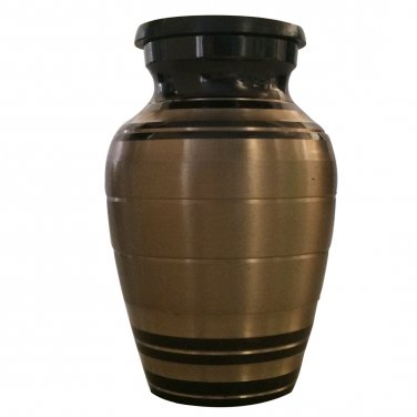 Gold Palace Small Keepsake Urn, Mini Cremation Urns for Ashes