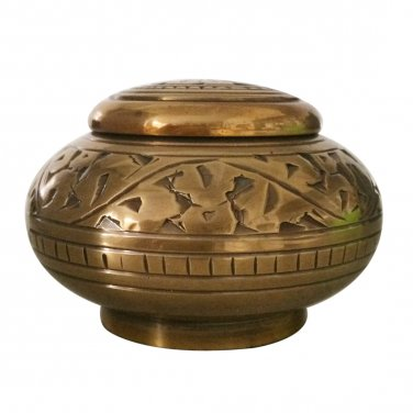 Enchanted Vines Small Keepsake Urn, Mini Cremation Urns for Ashes
