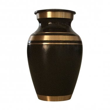 Classic Gray Small Keepsake Urn, Mini Cremation Urns for Ashes