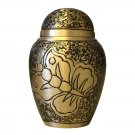 Antique Butterfly Small Keepsake Urn, Mini Cremation Urns for Ashes