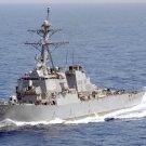 New 5x7 Photo: USS The Sullivans, Arleigh-Burke Destroyer in Mediterranean Sea