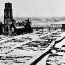New 5x7 World War II Photo: Ruins of Devastated Rotterdam, Netherlands in 1940