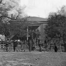 New 5x7 Civil War Photo: Federal soldiers at Courthouse in Appomattox, Virginia