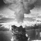 New 5x7 World War II Photo: Mushroom Cloud over Nagasaki after Atomic Bomb