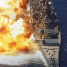 New 5x7 Photo: Battleship USS IOWA, The Big Stick