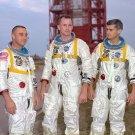 New 5x7 NASA Photo: Gus Grissom, Ed White & Roger Chaffee of Apollo 1