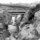 New 5x7 World War I Photo: Entrenched British Troops, Battle of the Somme